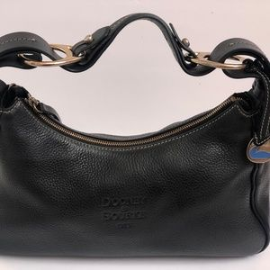Dooney & Bourke Handbag Leather Black Purse Tote